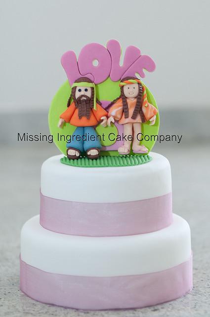 Hippie Wedding Cakes  View Wedding Gowns hippie wedding ideas candy bar at