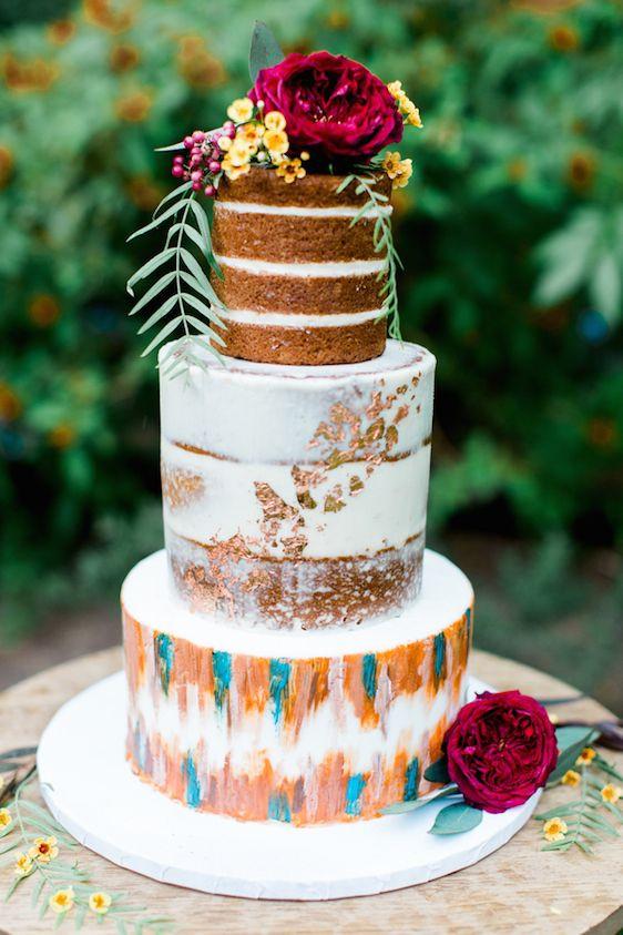 Hippie Wedding Cakes  37 Summer Boho Chic Wedding Ideas To Get Inspired