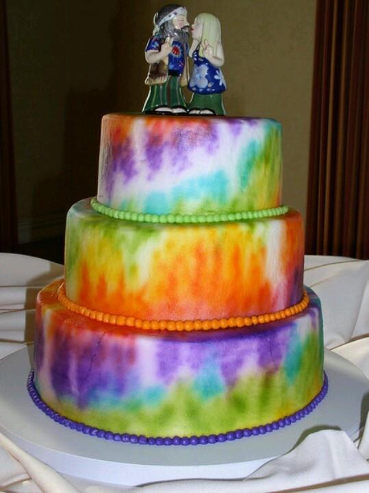 Hippie Wedding Cakes  Hippie wedding cakes idea in 2017