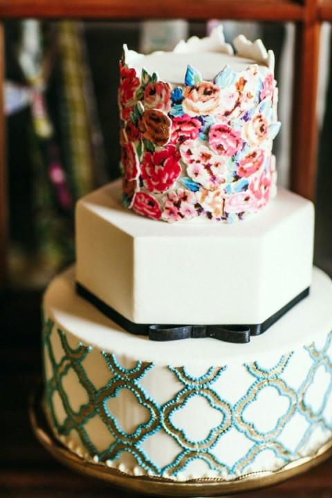 Hippie Wedding Cakes  32 Amazing Boho Chic Wedding Cakes