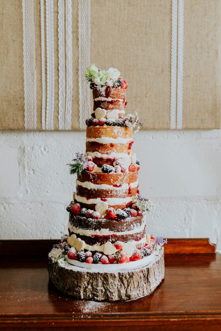 Hippie Wedding Cakes  Boho Pins Top 10 Pins of the Week Naked Wedding Cakes