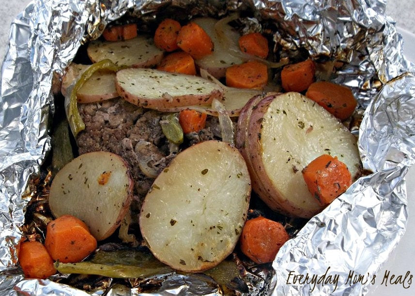 Hobo Dinner Camping  Grilled Hobo Dinners Recipe • The Simple Parent