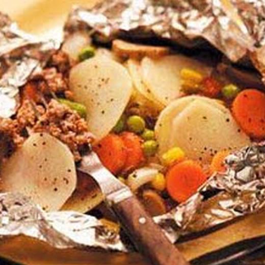 Hobo Dinners Camping  Camping Hobo Dinner