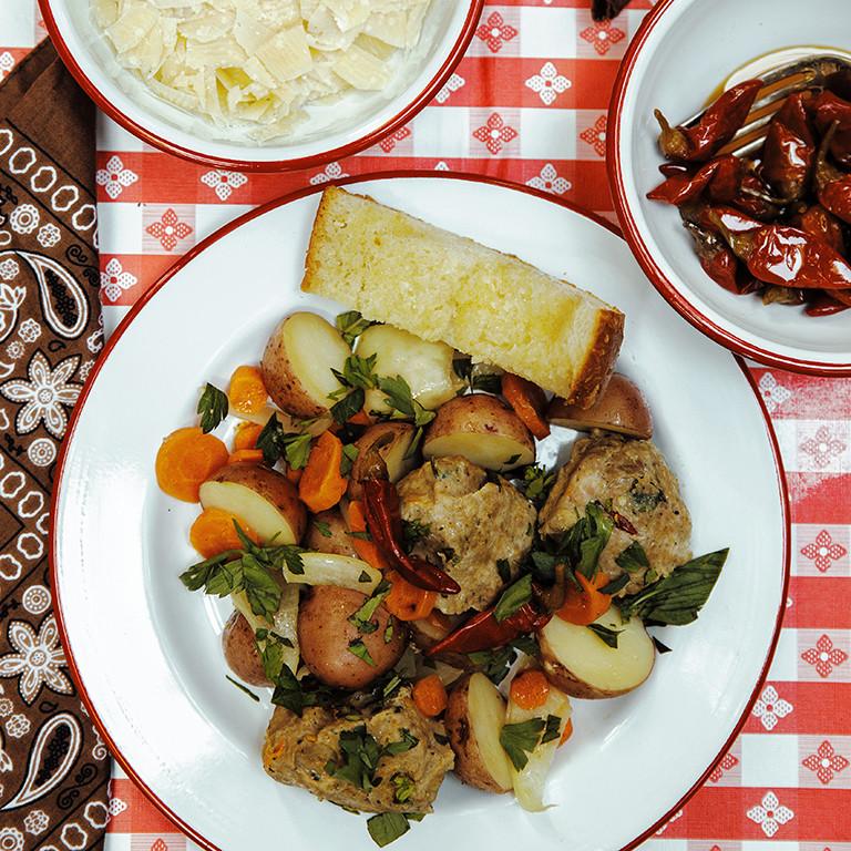 Hobo Dinners For Camping  Italian Style Hobo Bundles Recipe