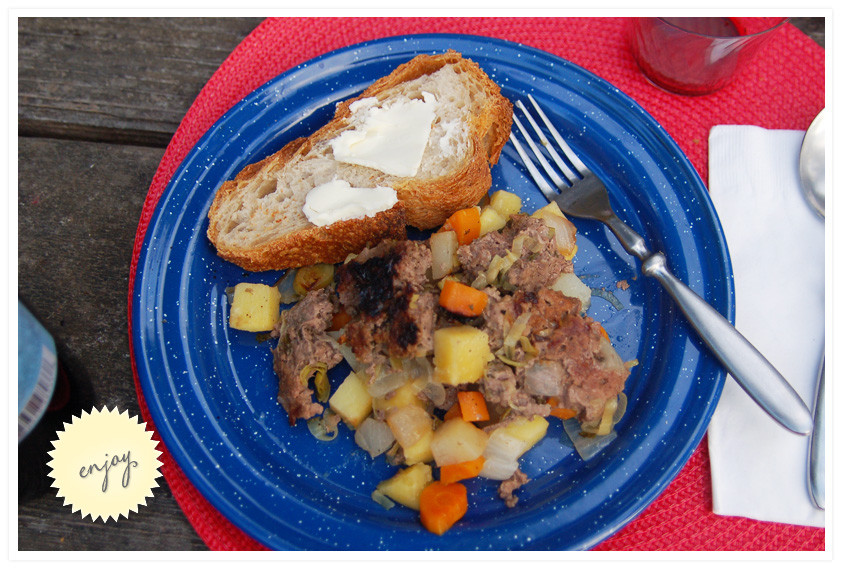 Hobo Stew Camping  camping good eats
