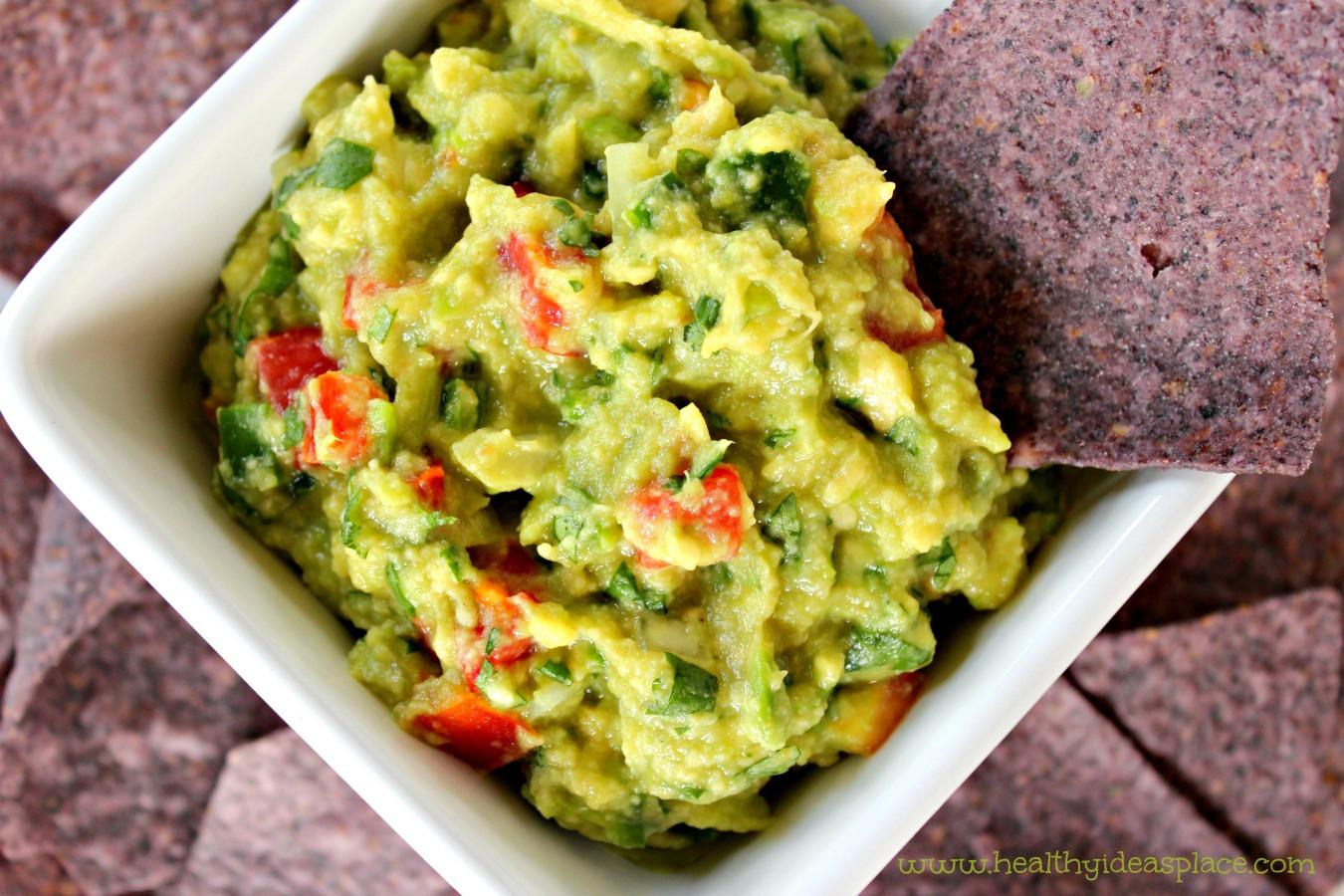 Homemade Guacamole Healthy  Guacamole Healthy Ideas Place
