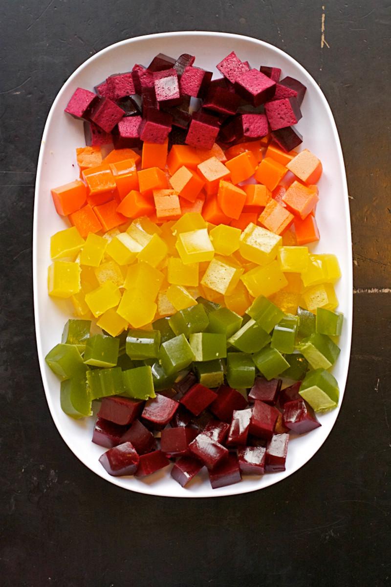 Homemade Healthy Snacks  How to Make Healthy Rainbow Homemade Gummy Snacks