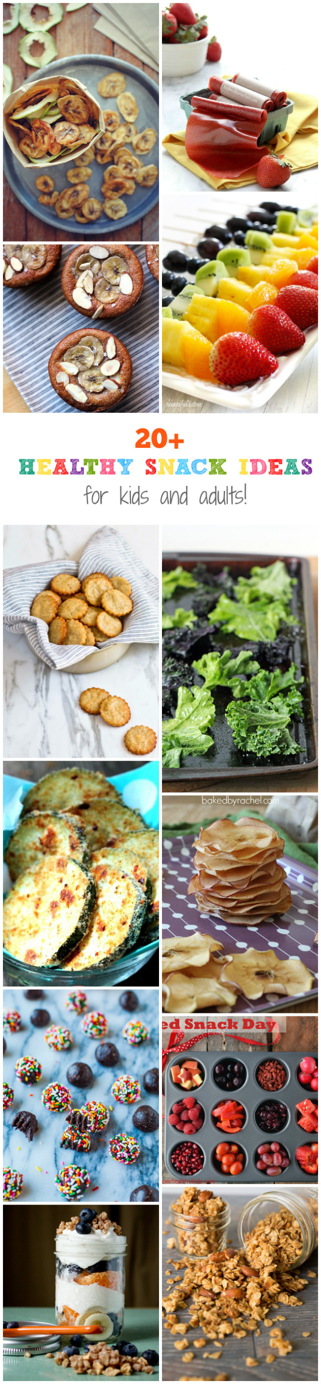 Homemade Healthy Snacks For Adults  20 Healthy Snack Ideas For Kids and Adults