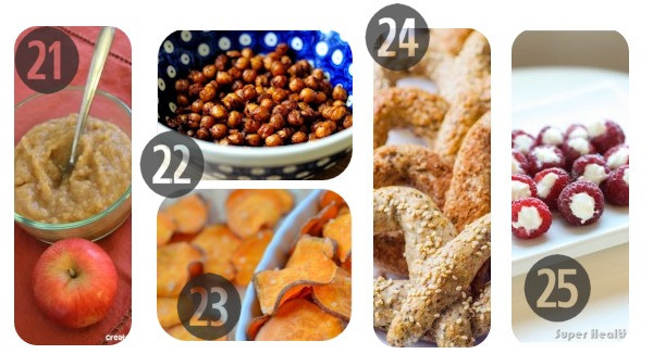 Homemade Healthy Snacks For Adults  25 Healthy Homemade Snack Ideas for Kids
