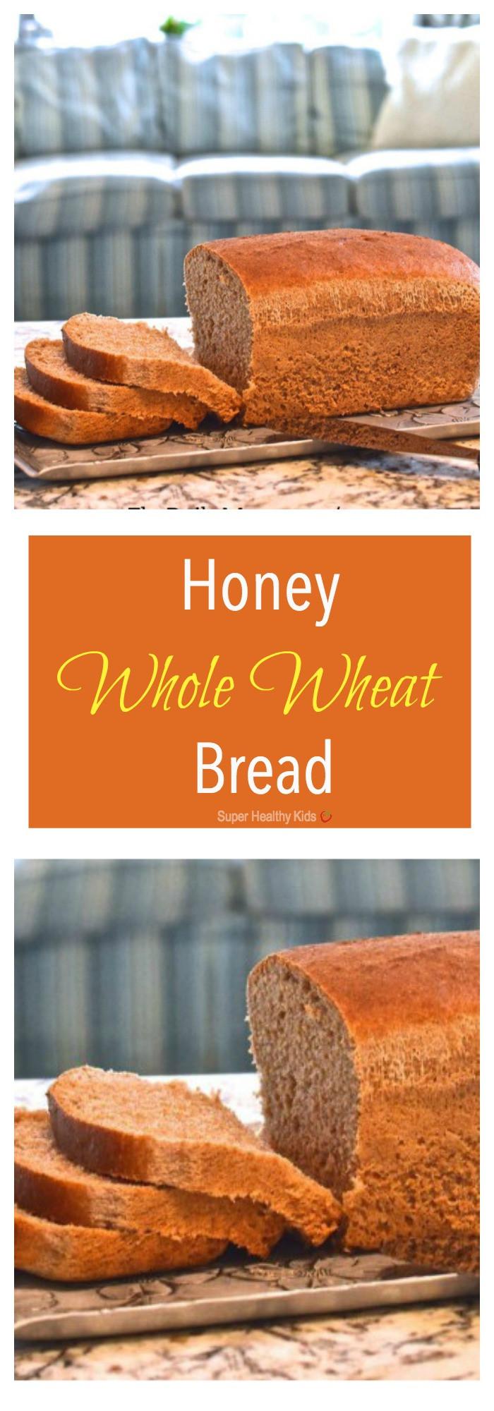 Honey Wheat Bread Healthy  Honey Whole Wheat Bread Recipe