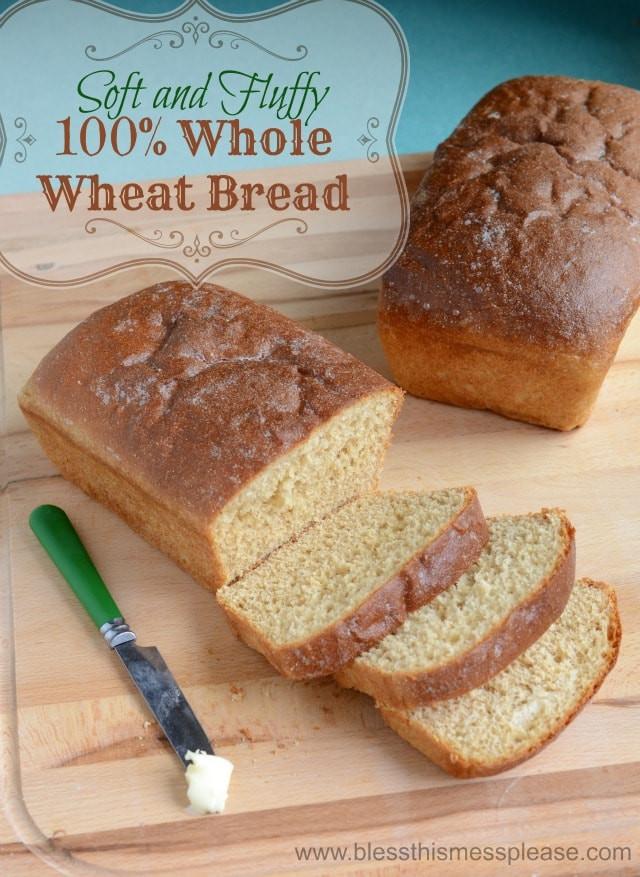 Honey Wheat Bread Healthy  honey wheat bread healthy recipe