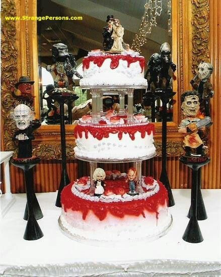 Horror Wedding Cakes  17 Best images about Cake creations on Pinterest