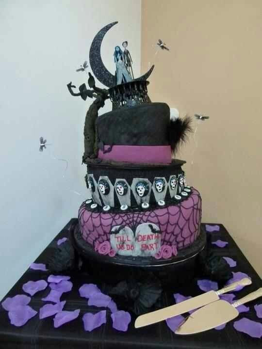 Horror Wedding Cakes  17 Best images about creepy cakes on Pinterest
