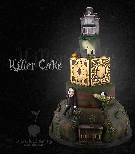 Horror Wedding Cakes  Spooky Halloween Wedding Cakes
