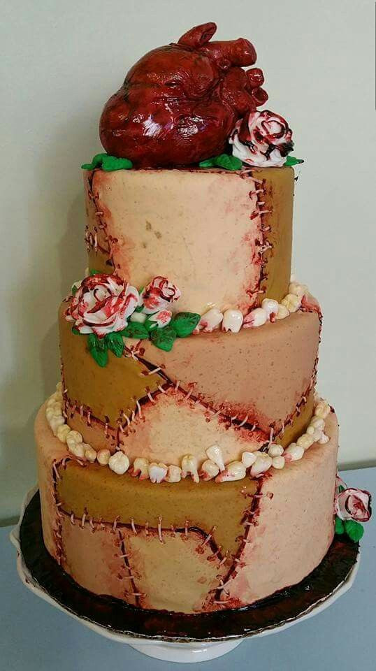 Horror Wedding Cakes  25 best ideas about Horror Cake on Pinterest