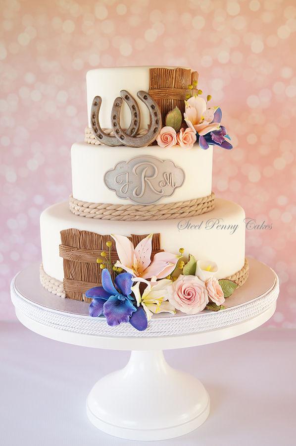Horse Wedding Cakes  10 Farm Wedding Cakes Lorna Sixsmith