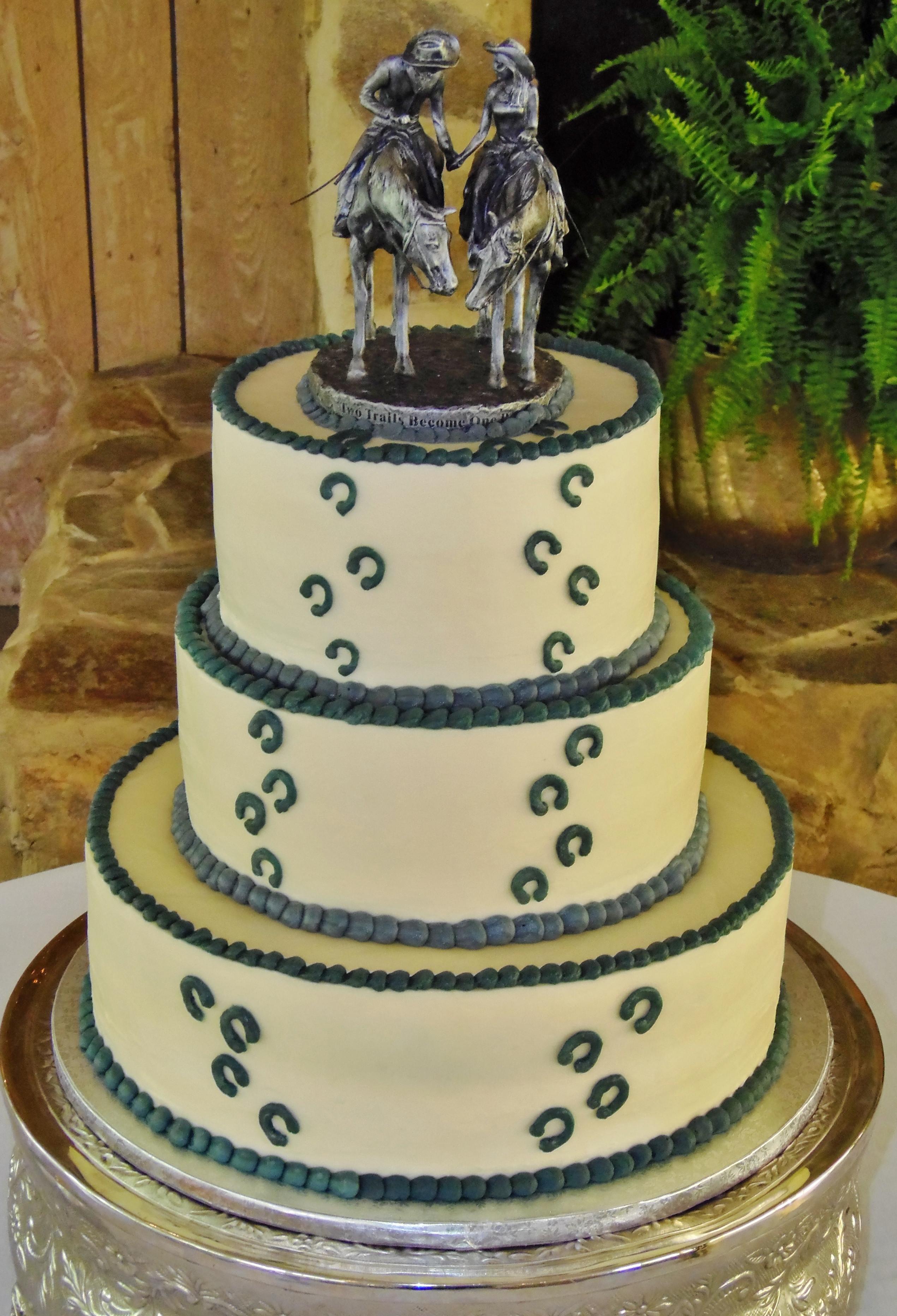 Horse Wedding Cakes  Horse Wedding Cake topper