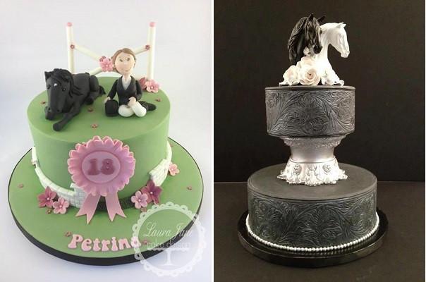Horse Wedding Cakes  Horse Cakes And Tutorials – Cake Geek Magazine