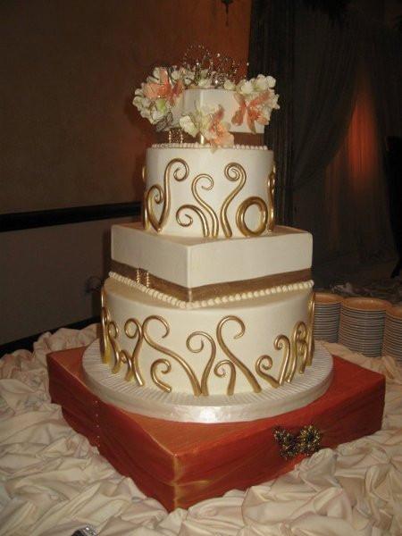 Houston Wedding Cakes  Cakes by Gina Houston TX Wedding Cake