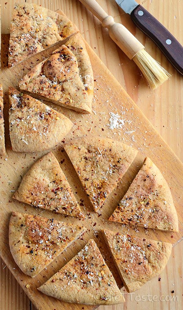 How Healthy Is Pita Bread  Healthy Pita Bread Chips