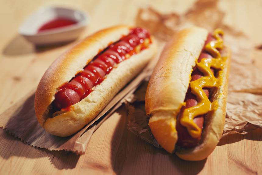 How Unhealthy Are Hot Dogs  What's really inside The anatomy of a hot dog