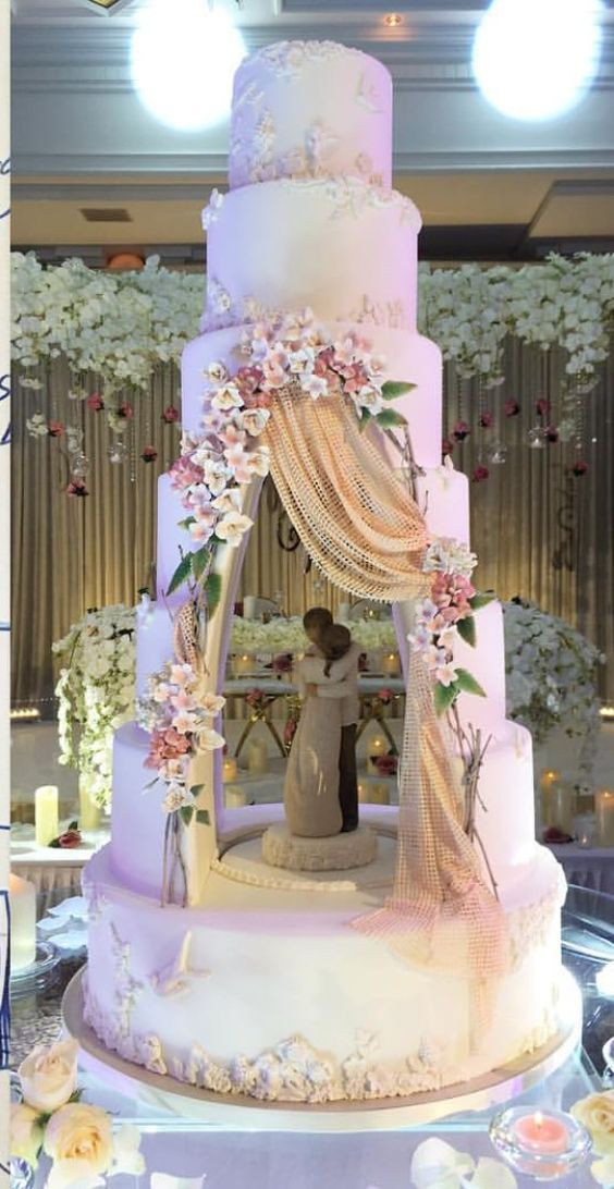 Huge Wedding Cakes  Wonderful Huge Wedding Cake That Will Inspired You
