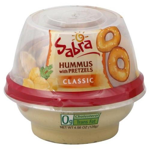 Hummus And Pretzels Healthy  Hummus