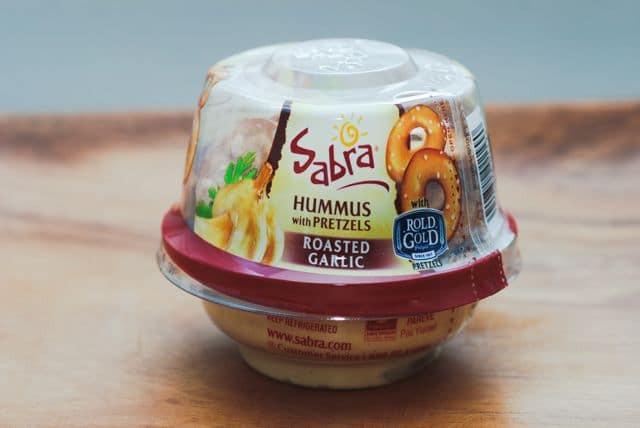 Hummus And Pretzels Healthy  5 Grab n Go Healthy School Snacks Real Mom Nutrition