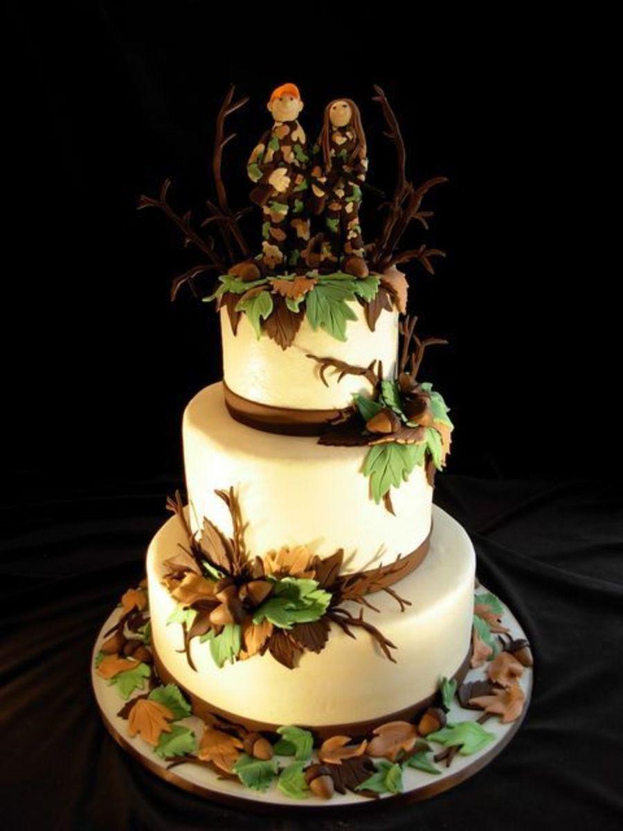 Hunting Wedding Cakes  Hunting Wedding Cake CakeCentral