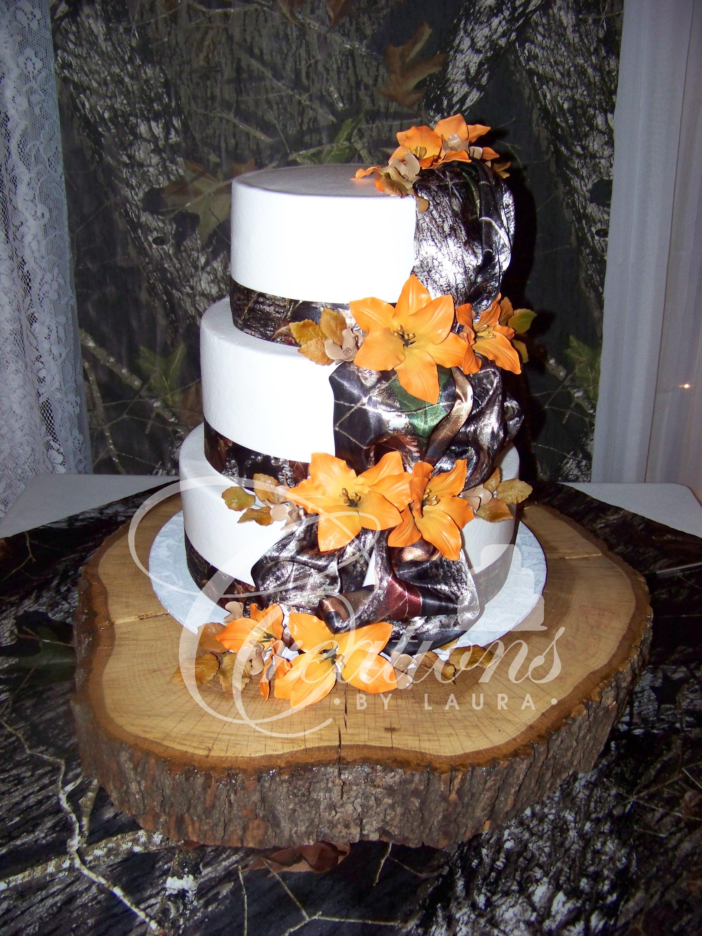 Hunting Wedding Cakes  2014 Wedding Cakes