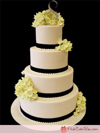 Hydrangeas Wedding Cakes  Green Hydrangea Wedding Cake Wedding Cakes us91