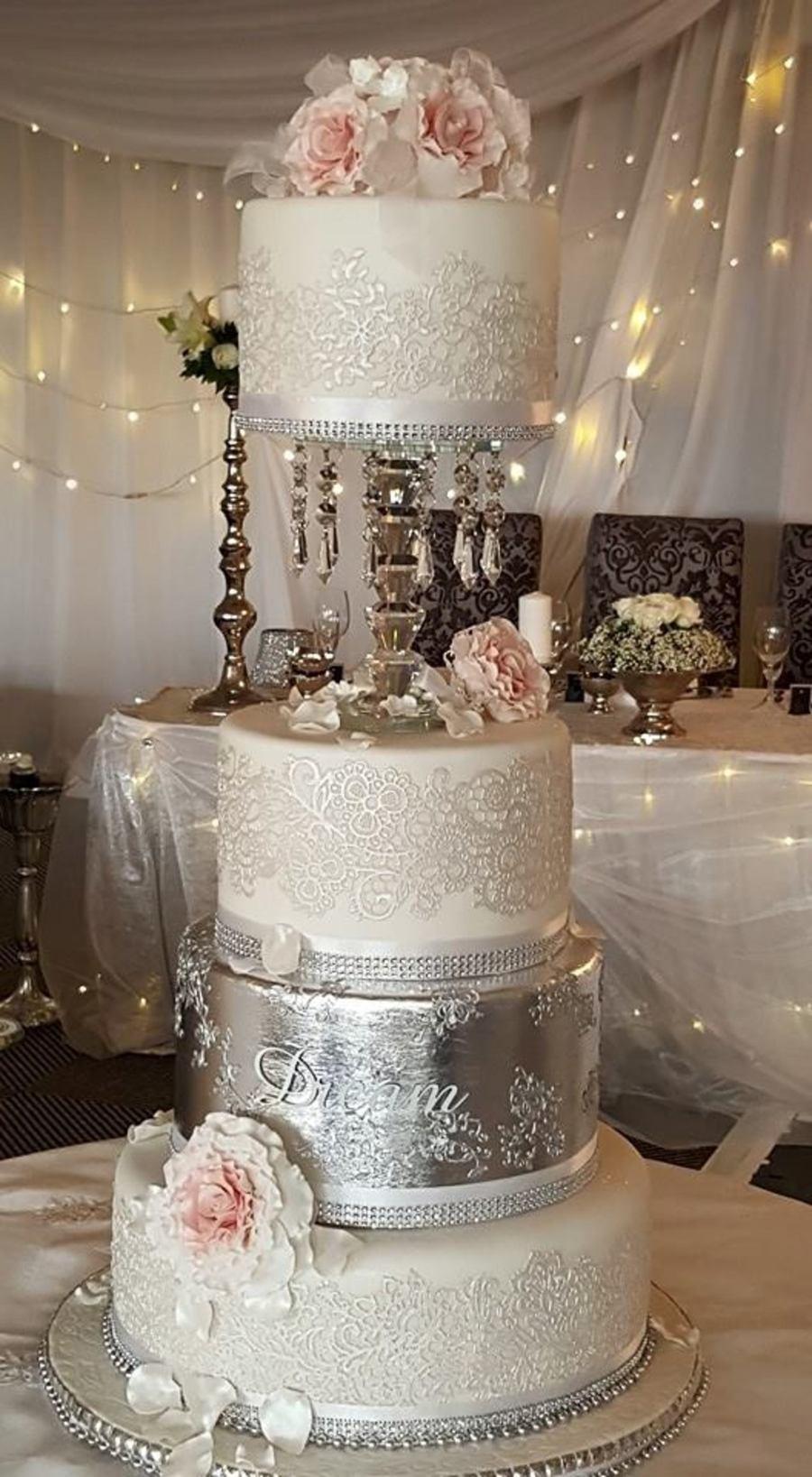 I Do Wedding Cakes  Wedding Cake Silver Dreams 2015 Cornelia Marreiros