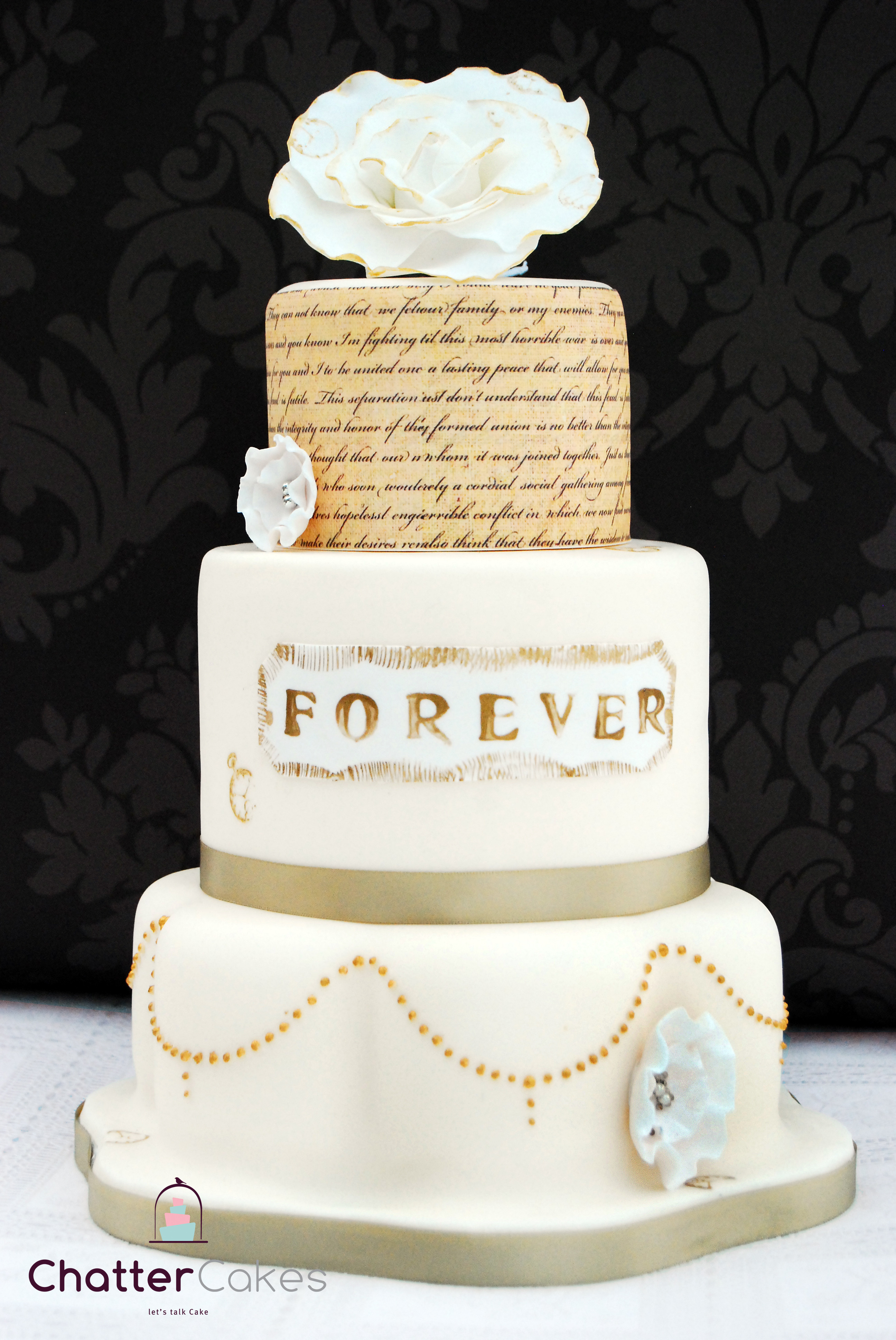 I Do Wedding Cakes  yellow wedding cake