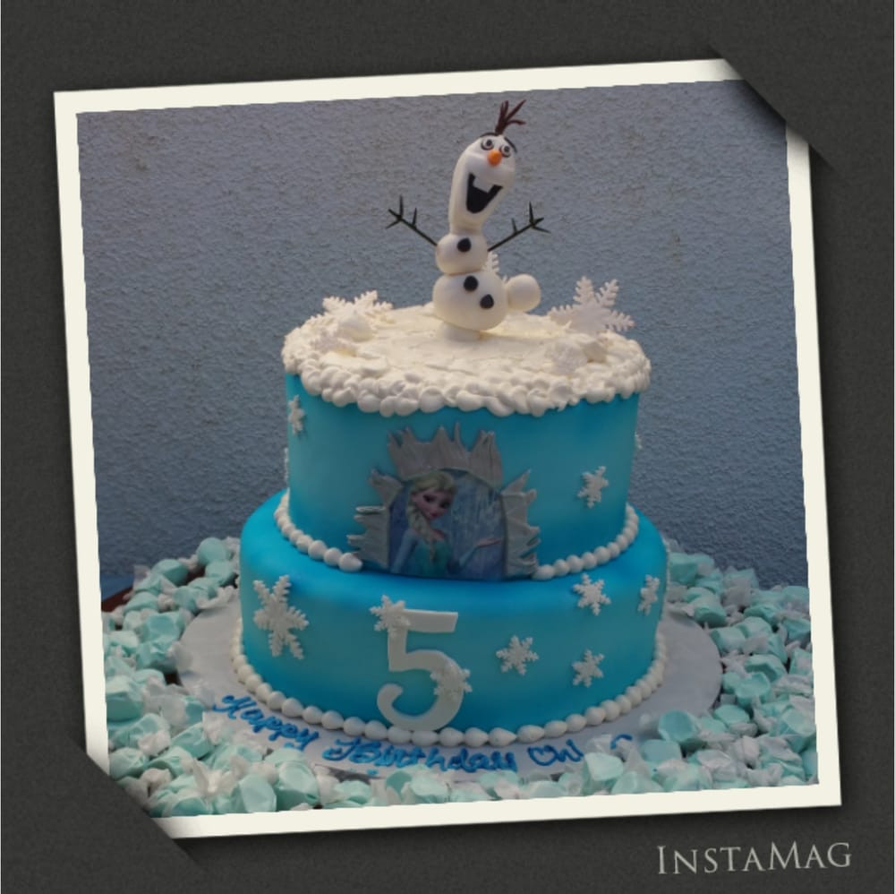 I Do Wedding Cakes Morgan Hill  My daughter s 5th b day cake tastes so good and looks so
