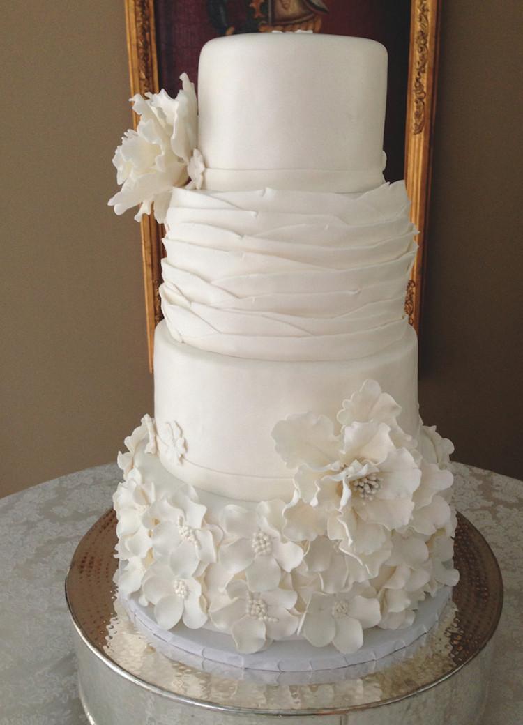 I Do Wedding Cakes  Delectable Cakes Wedding Inspiration The Pink Bride