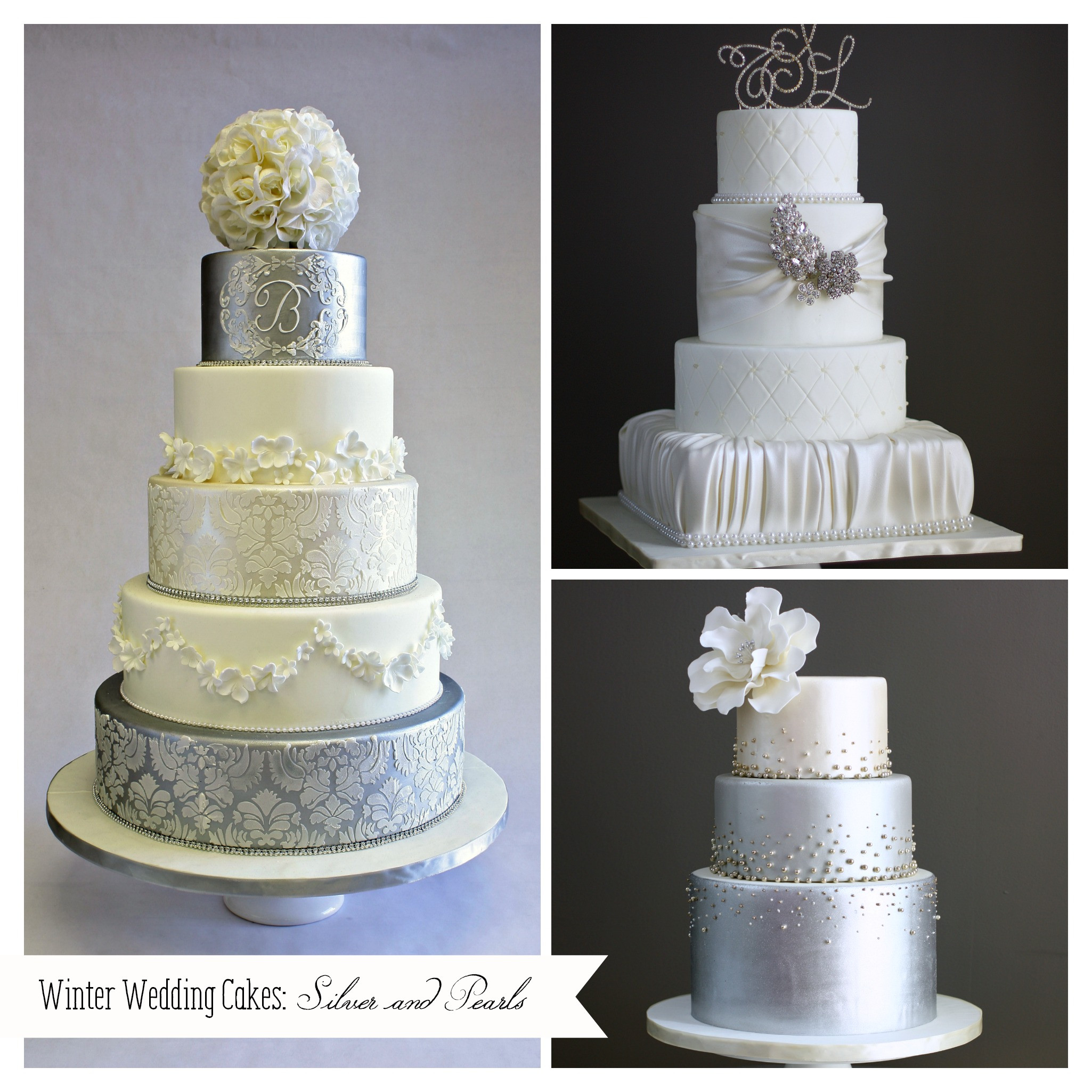 I Do Wedding Cakes  Winter Weddings Mean Less Stress and Big Savings I Do