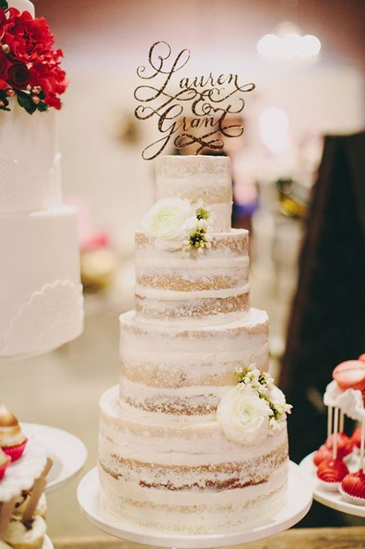 Iced Wedding Cakes  The Hottest 2016 Wedding Trend 15 Delicious Dirty Iced