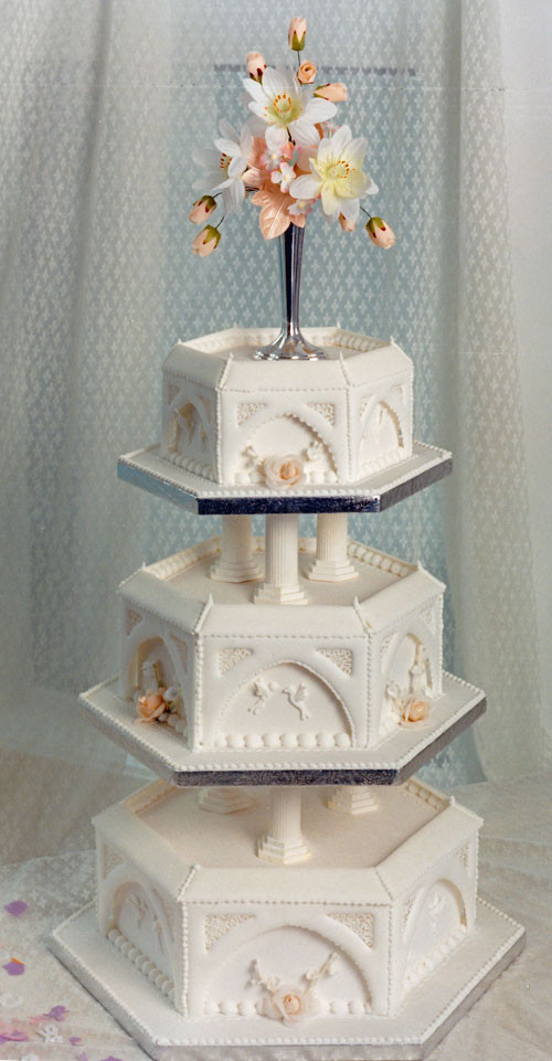 Iced Wedding Cakes  Royal Icing Archives