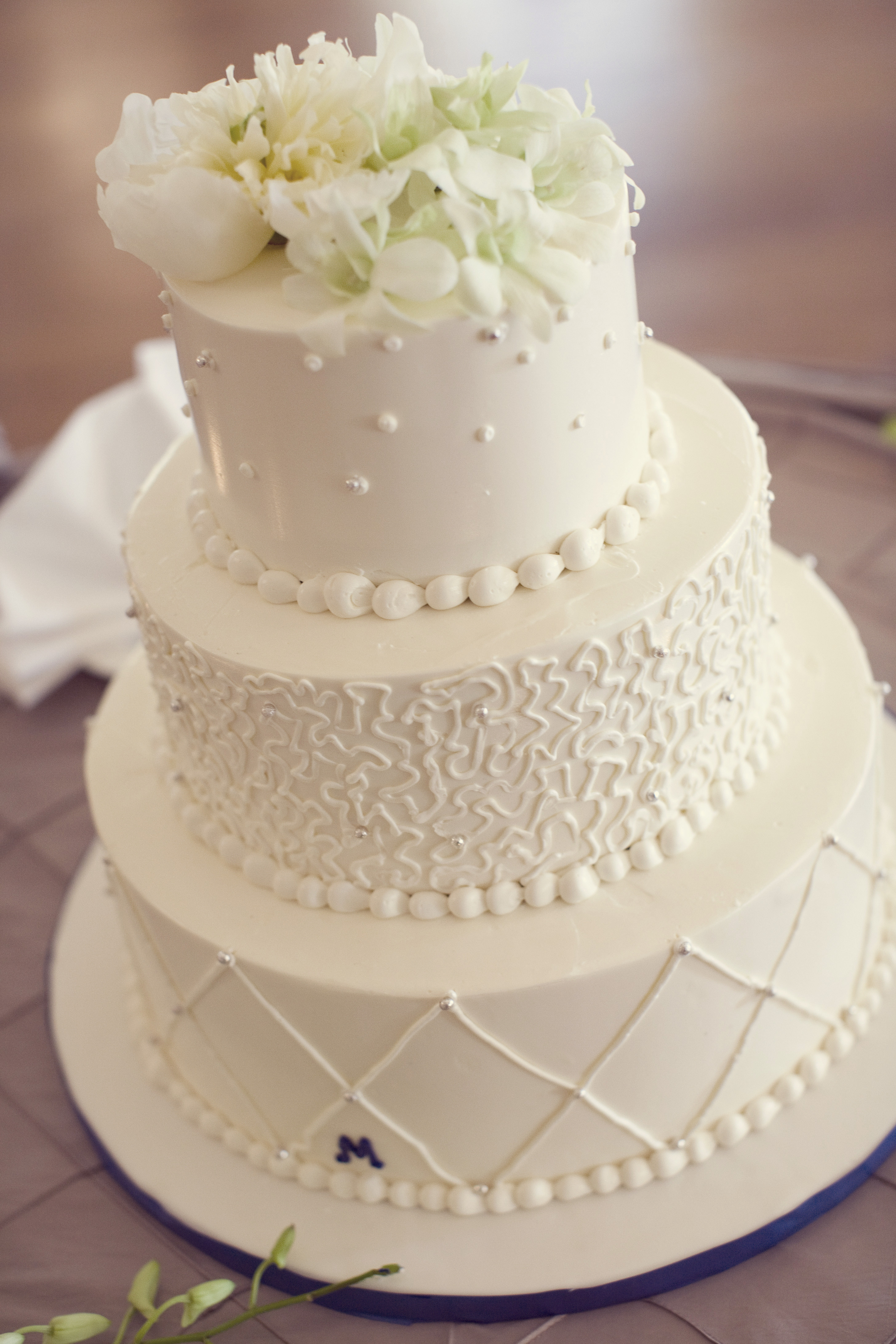 Icing Wedding Cakes  Wedding Cake Frosting Recipe — Dishmaps