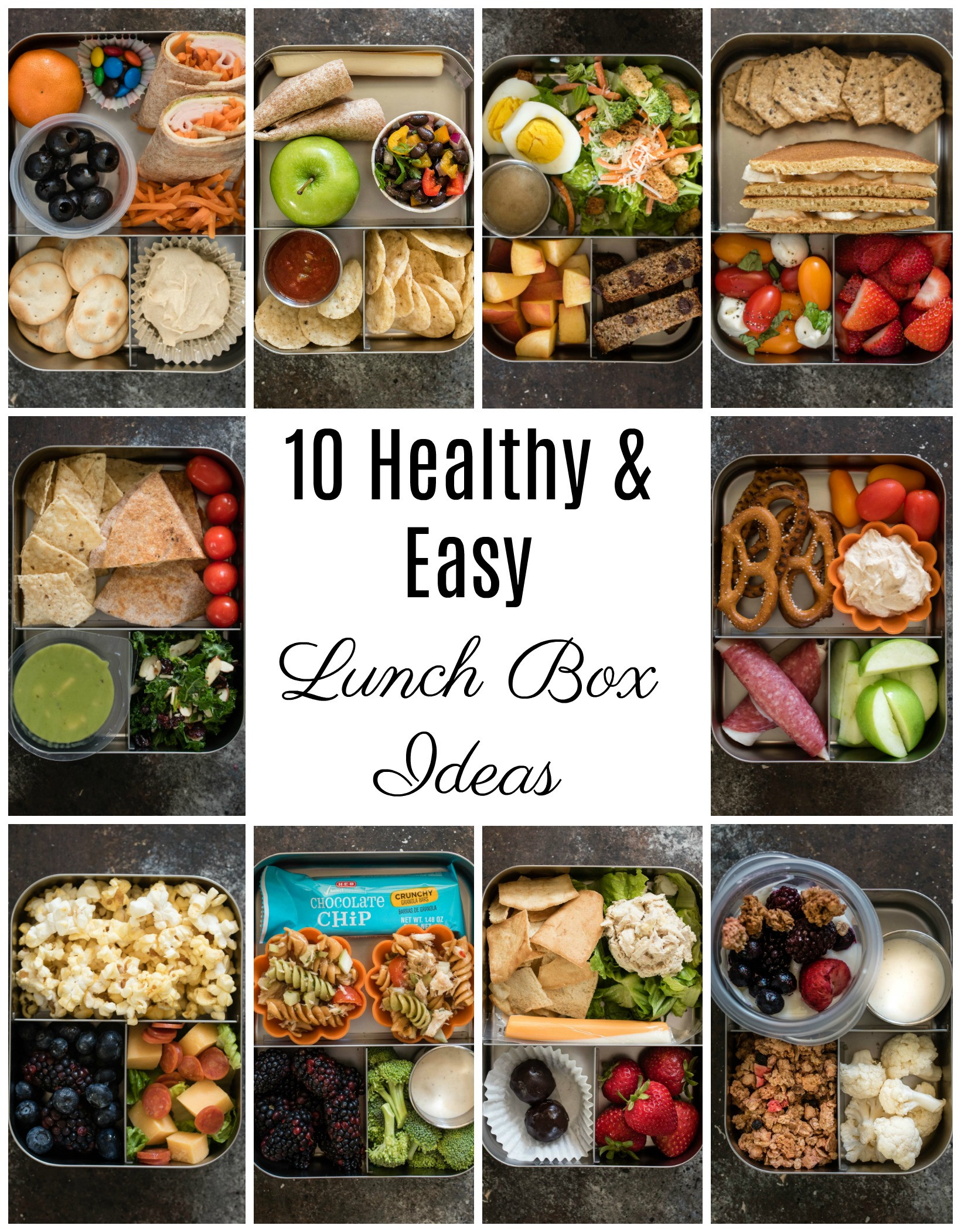 Ideas For Healthy Lunches  10 Healthy Lunch Box Ideas