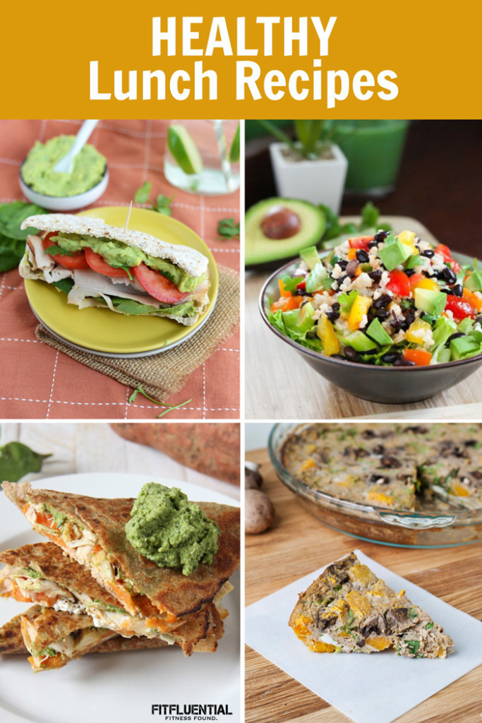 Ideas For Healthy Lunches  Healthy Packable Lunch Ideas FitFluential
