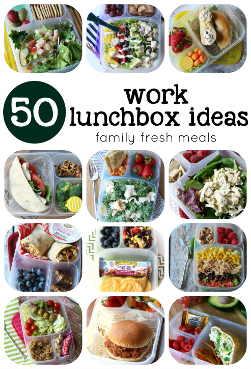 Ideas For Healthy Lunches  Over 50 Healthy Work Lunchbox Ideas Family Fresh Meals