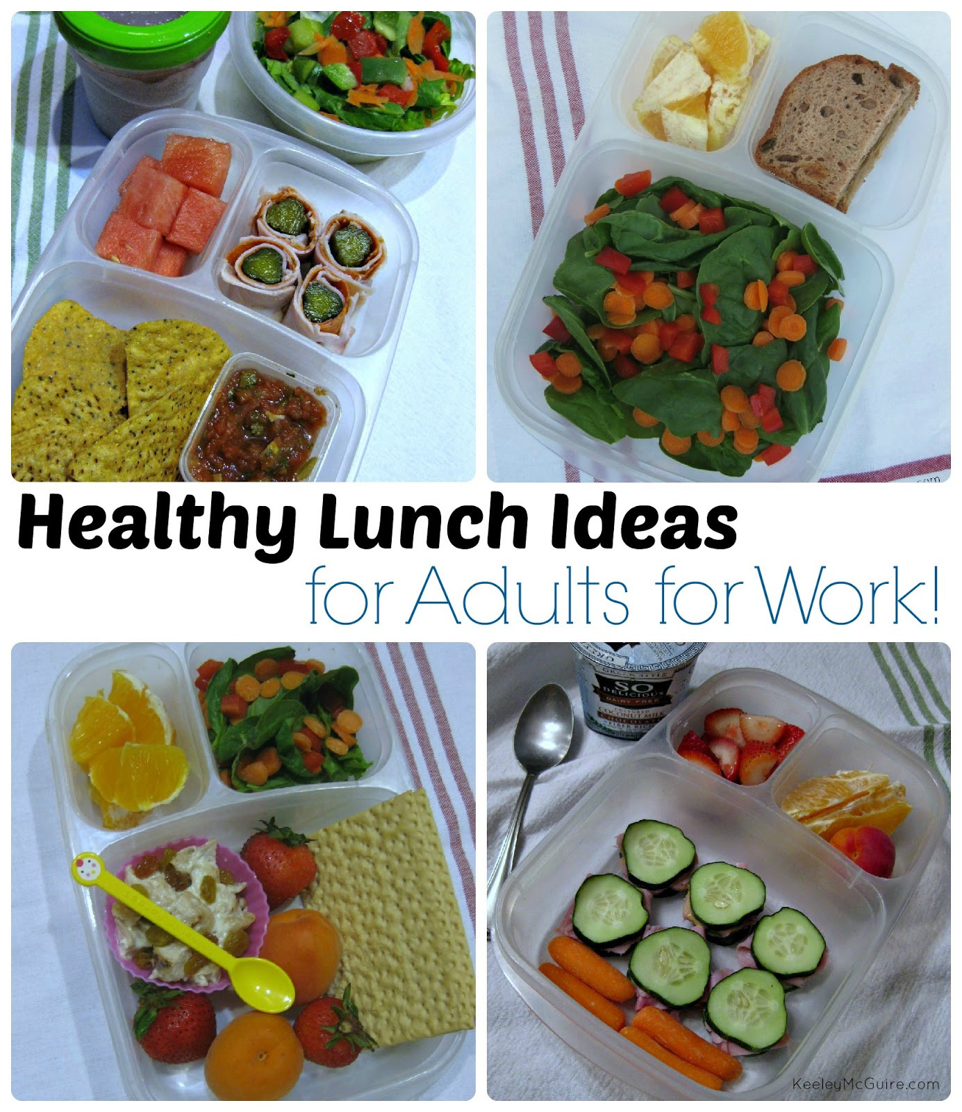 Ideas For Healthy Lunches  Gluten Free & Allergy Friendly Lunch Made Easy Healthy