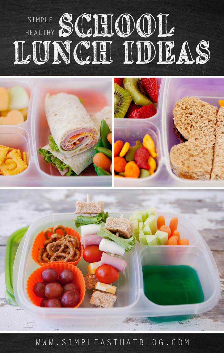 Ideas For Healthy Lunches  Simple and Healthy School Lunch Ideas simple as that