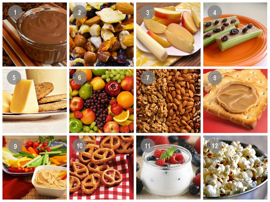 Ideas For Healthy Snacks  Be Snack Smart