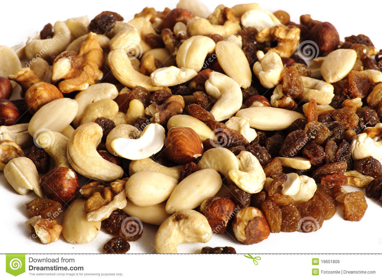 Image Of Healthy Snacks  Healthy snack mixed nuts stock photo Image of different