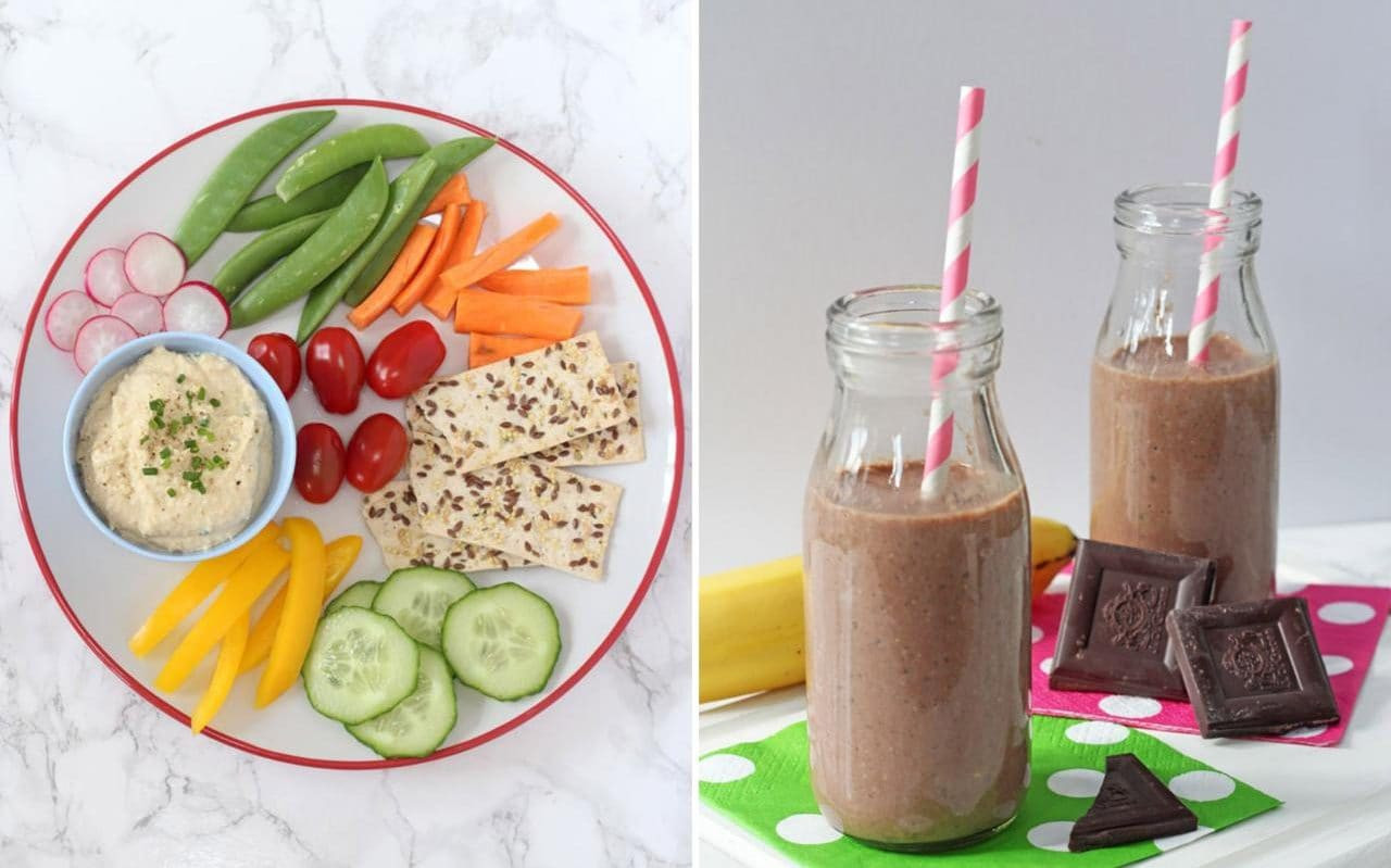 Image Of Healthy Snacks  The best nutritious low calorie snacks that your children