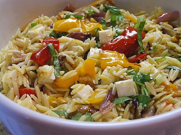 Ina Garten Roasted Summer Vegetables  Orzo with Roasted Ve ables