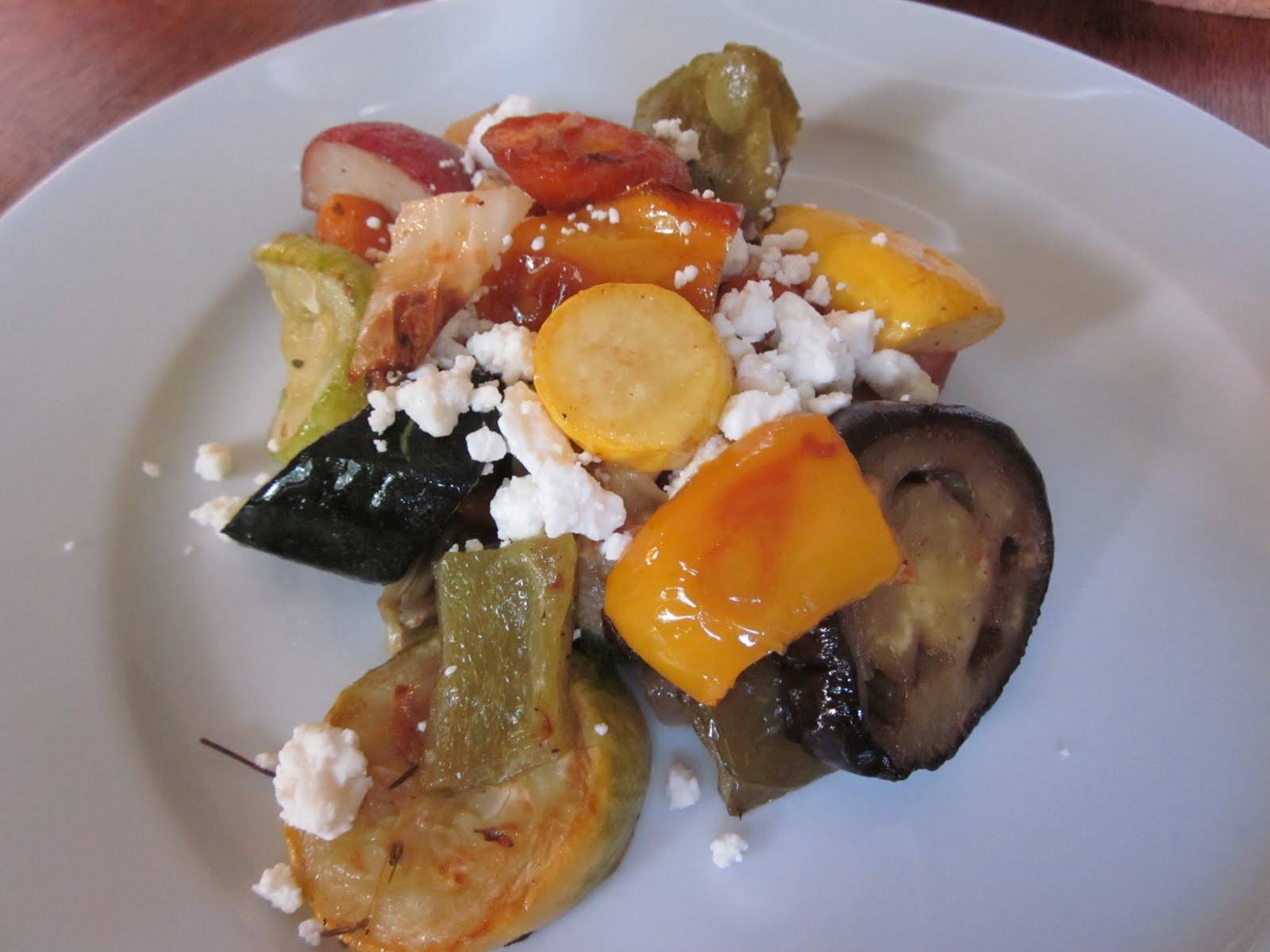 Ina Garten Roasted Summer Vegetables  taste a little of the summer Roasted Summer Ve ables