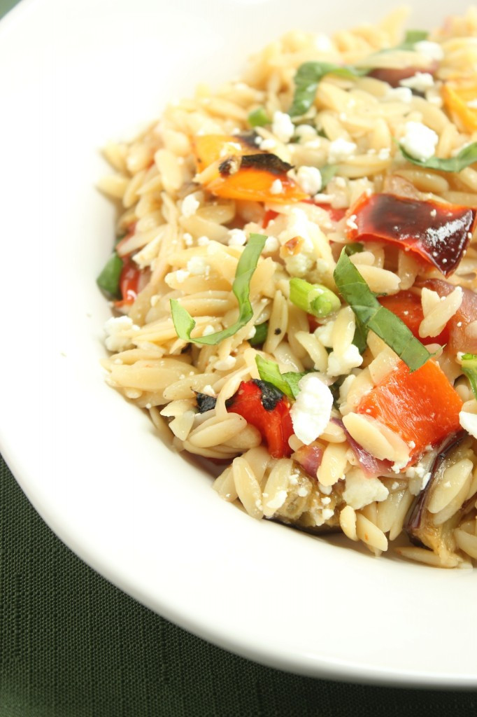 Ina Garten Roasted Summer Vegetables  Ina Garten's Orzo with Roasted Ve ables
